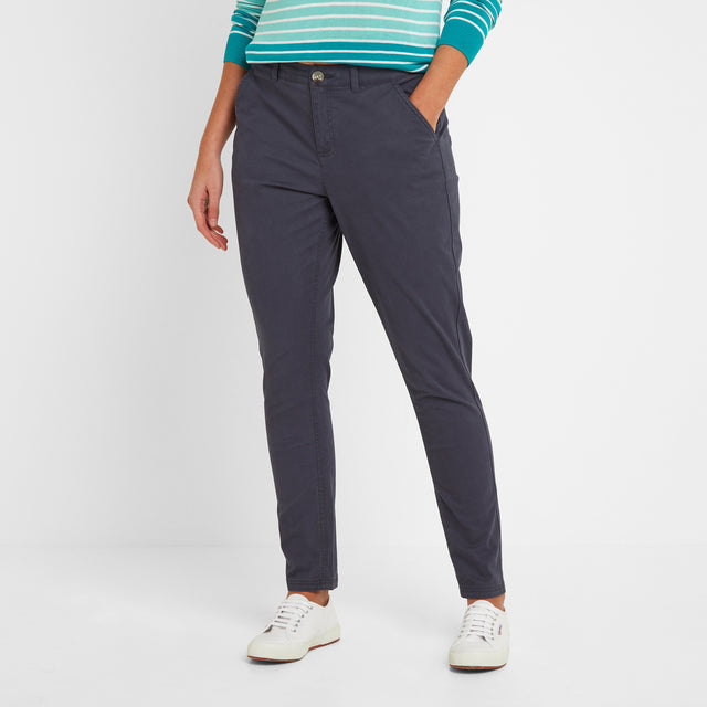 Pickering Womens Trousers Short - Navy image 2
