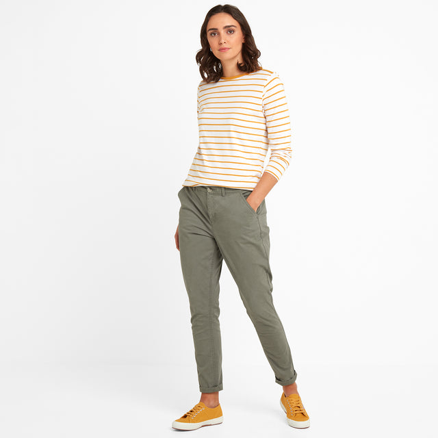 Pickering Womens Trousers Long - Khaki image 1