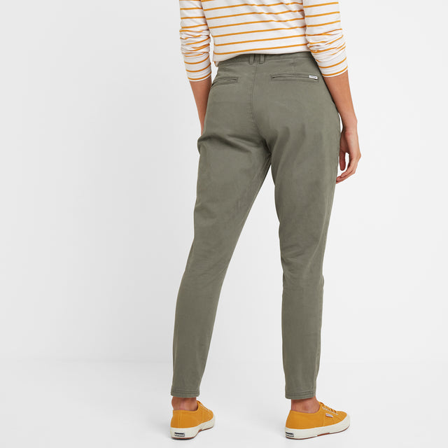 Pickering Womens Trousers Long - Khaki image 3