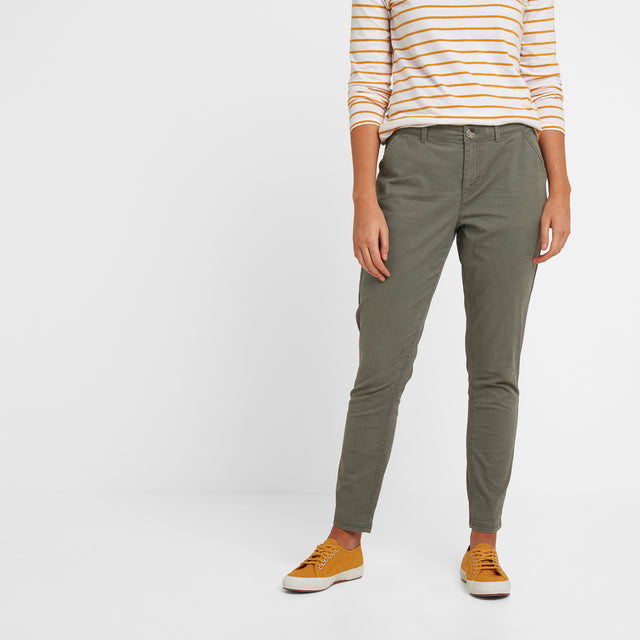 Pickering Womens Trousers Long - Khaki image 2