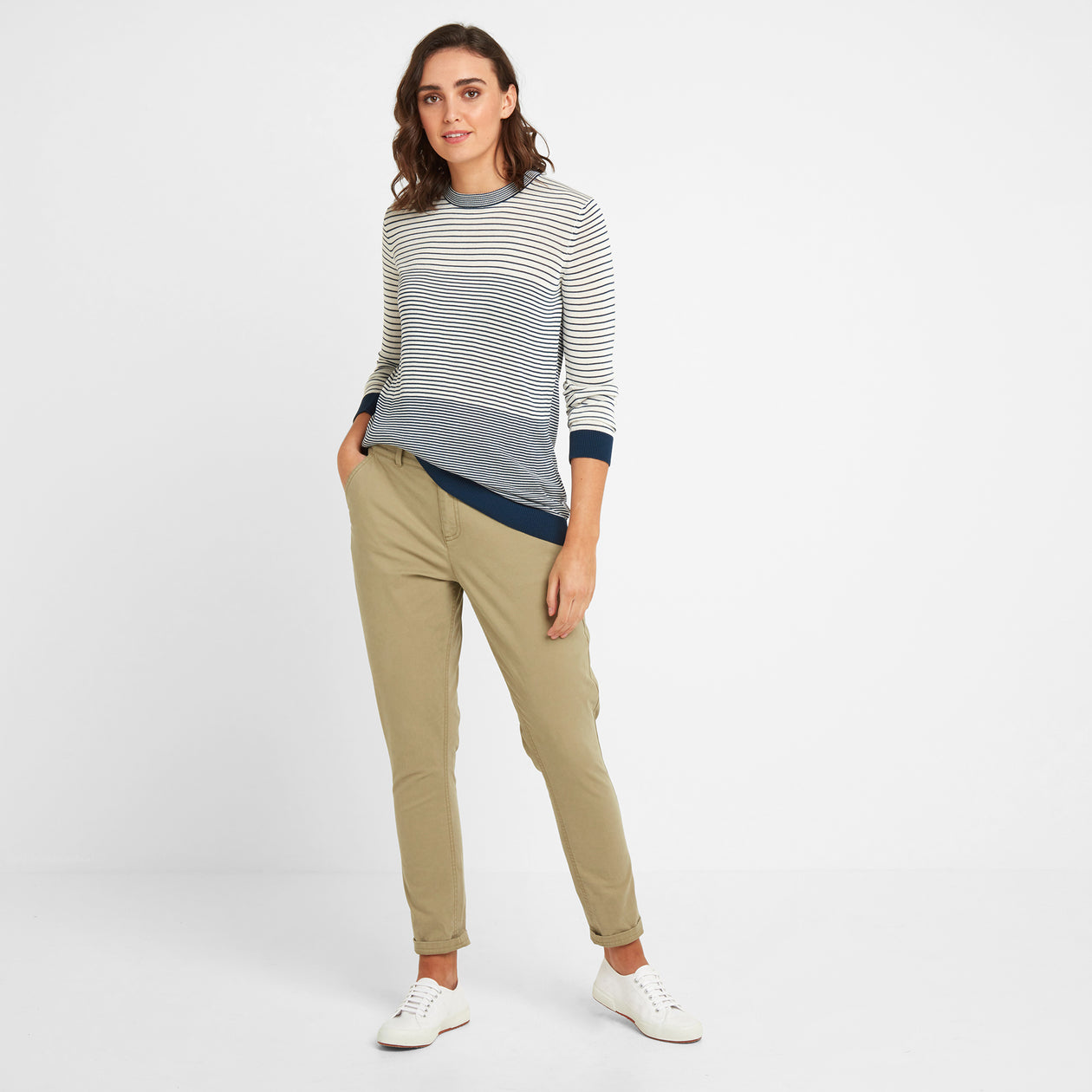 Pickering Womens Trousers Short - Sand image 4