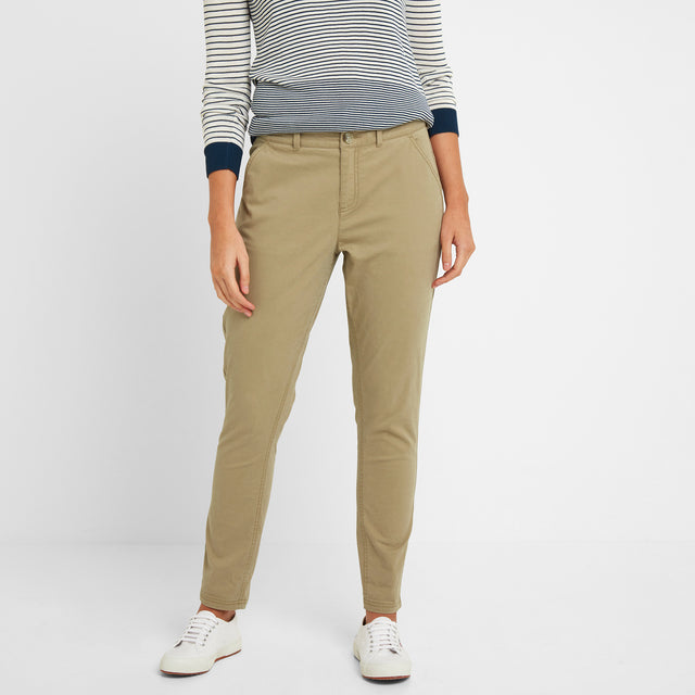 Pickering Womens Trousers Short - Sand image 2