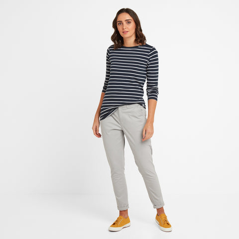 Pickering Womens Trousers Short - Pebble
