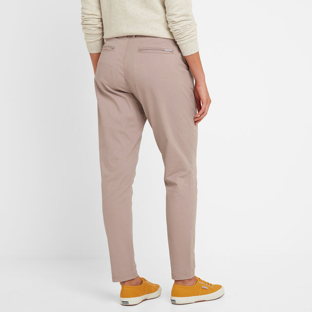 Pickering Womens Trousers Short - Dusky Pink image 3