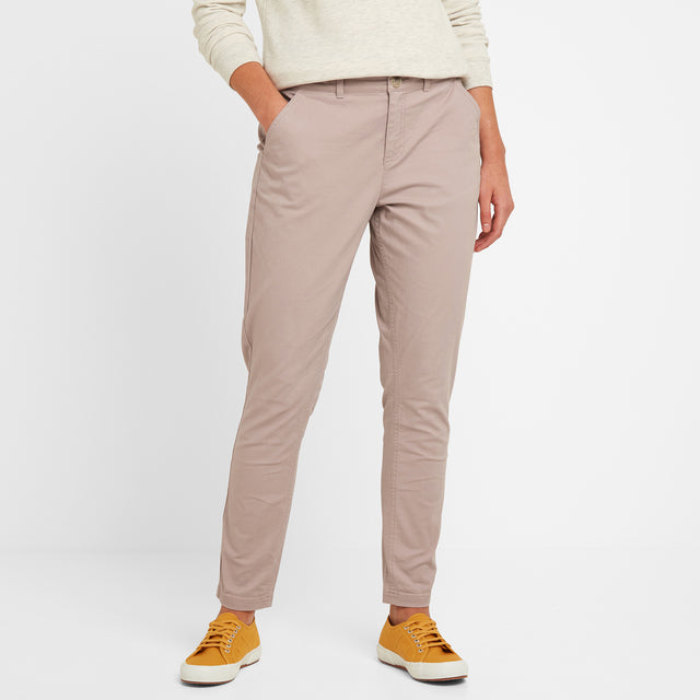 Pickering Womens Trousers Short - Dusky Pink image 2