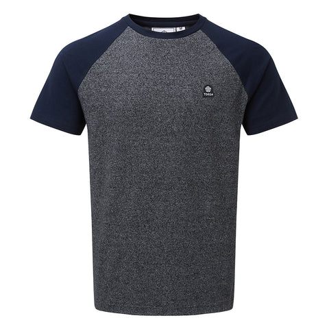 Pike Mens T-Shirt - Navy Marl