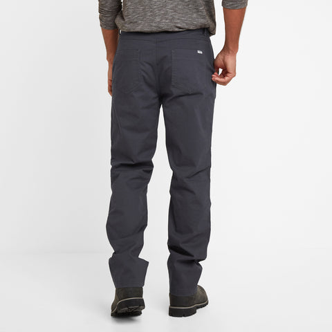 Reighton Mens Trousers Long - Midnight