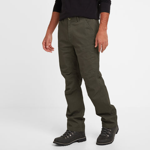 Reighton Mens Trousers Long - Charcoal