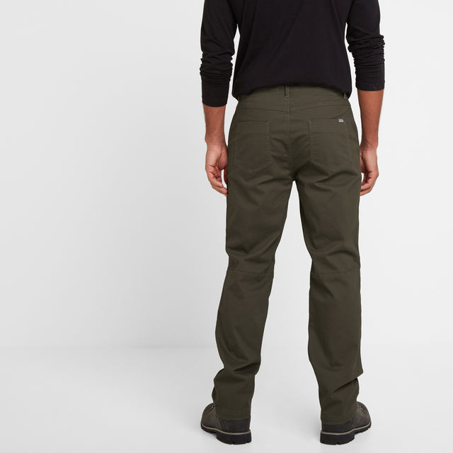 Reighton Mens Trousers Long - Charcoal image 3