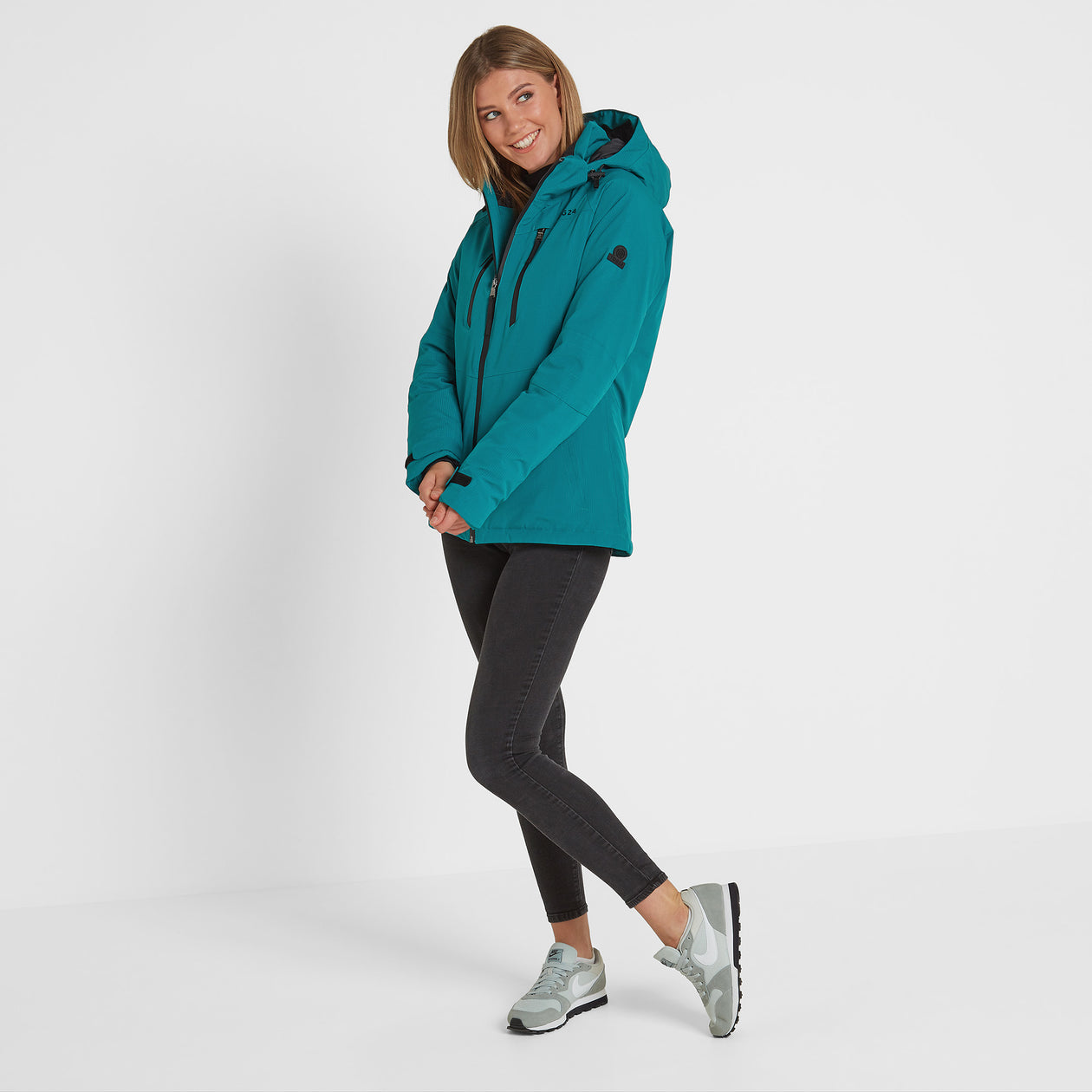 Riley Womens Winter Jacket - Topaz image 4