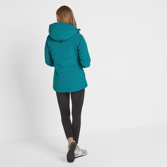 Riley Womens Winter Jacket - Topaz image 2