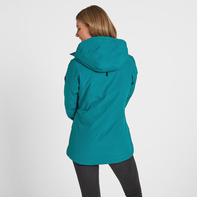 Riley Womens Winter Jacket - Topaz image 3