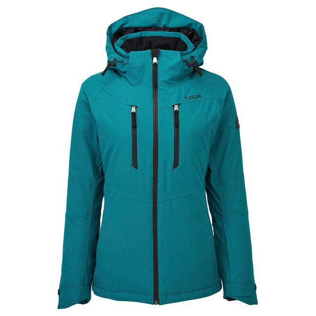 Riley Womens Waterproof Down Fill Ski Jacket - Topaz image 5