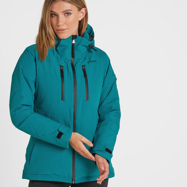 Riley Womens Winter Jacket - Topaz image 1