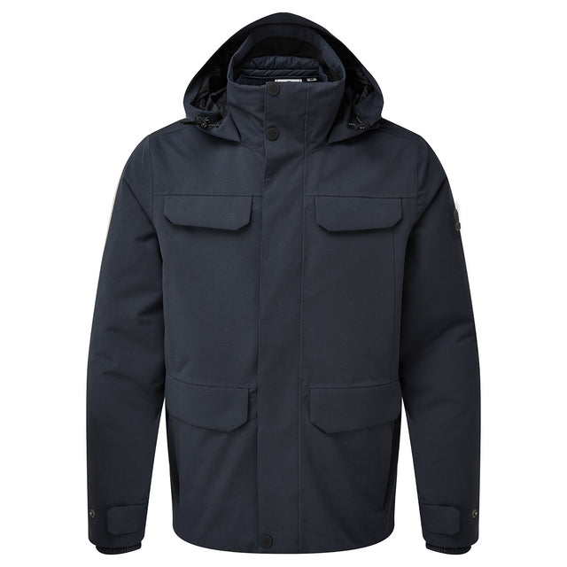 Ripley Mens Waterproof 3-In-1 Jacket - Dark Indigo image 6
