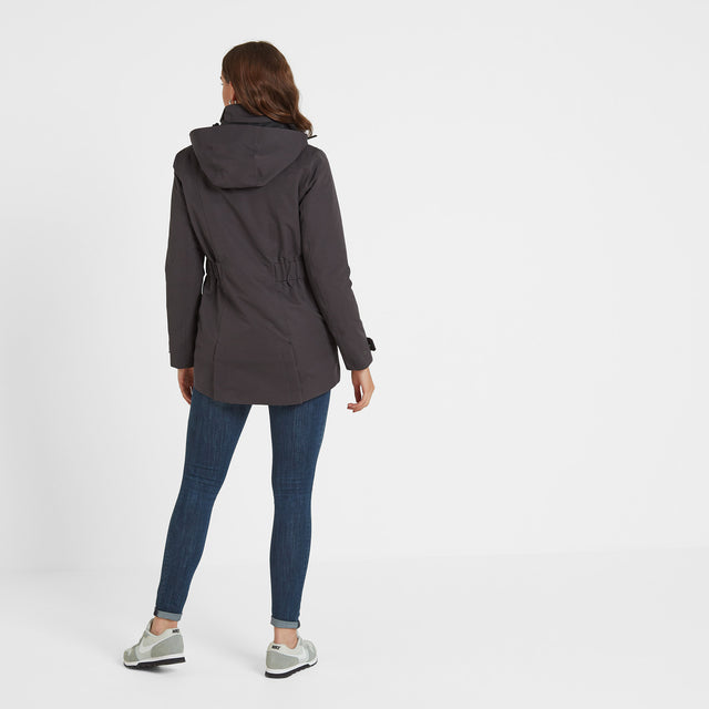 Ripley Womens Waterproof 3-In-1 Jacket - Coal Grey image 5