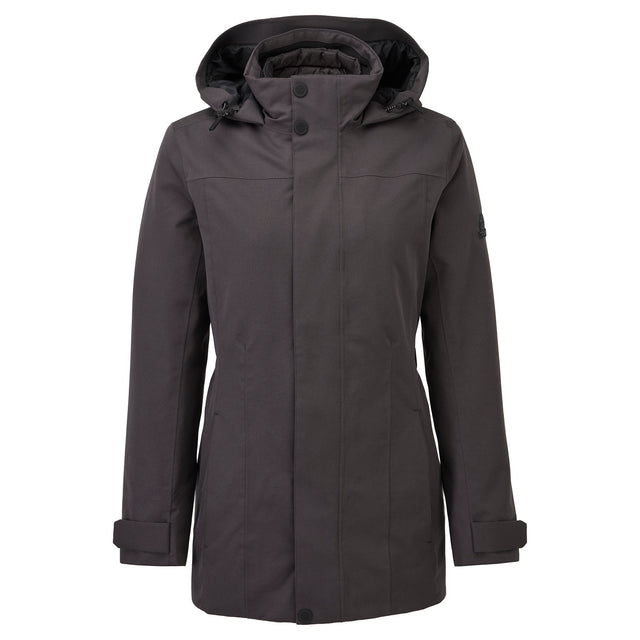 Ripley Womens Waterproof 3-In-1 Jacket - Coal Grey image 6