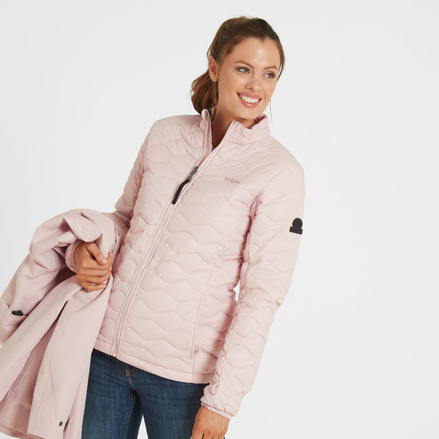Ripley Womens Waterproof 3-In-1 Jacket - Rose Pink image 3