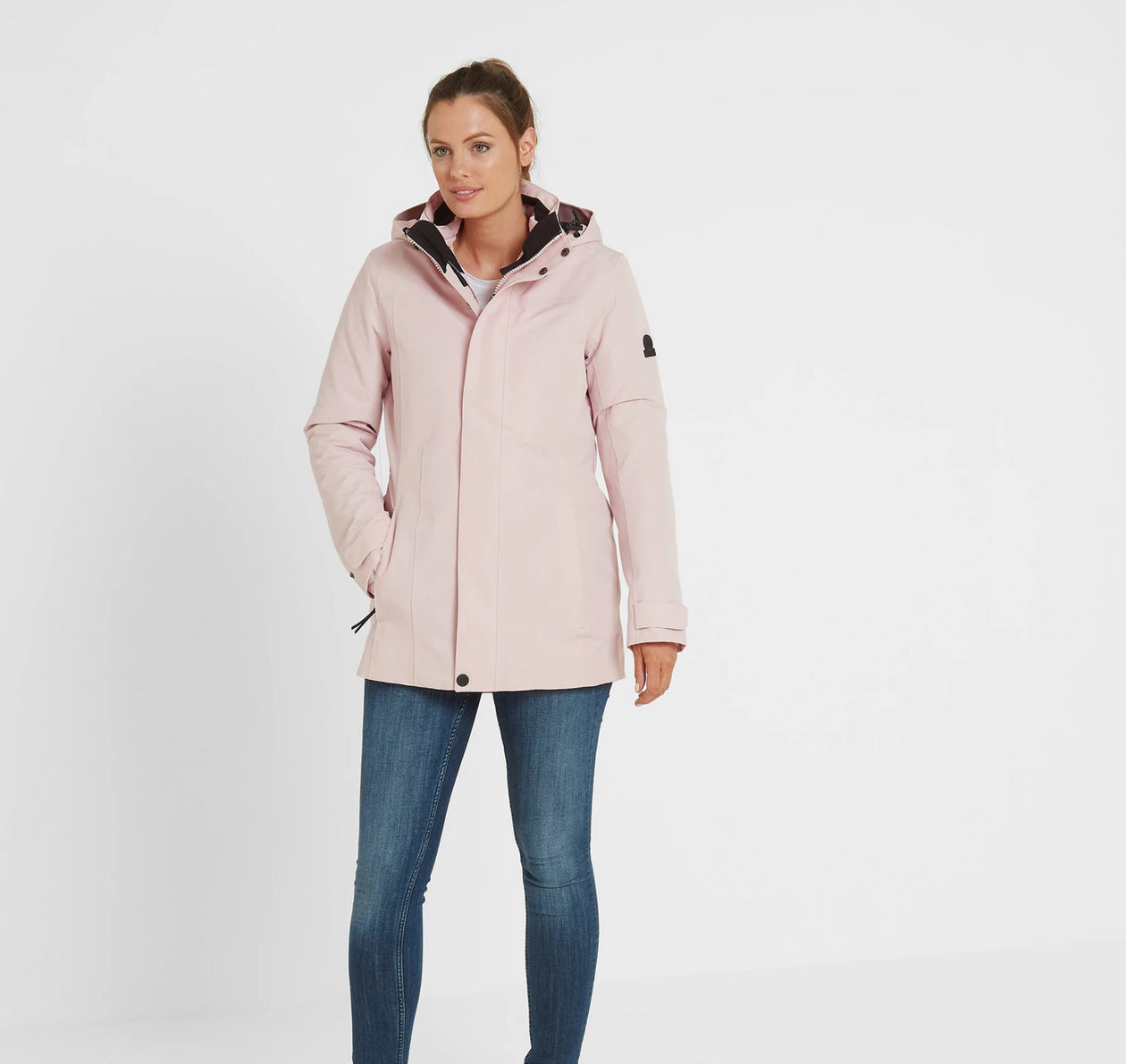 Ripley Womens Waterproof 3-In-1 Jacket - Rose Pink image 4