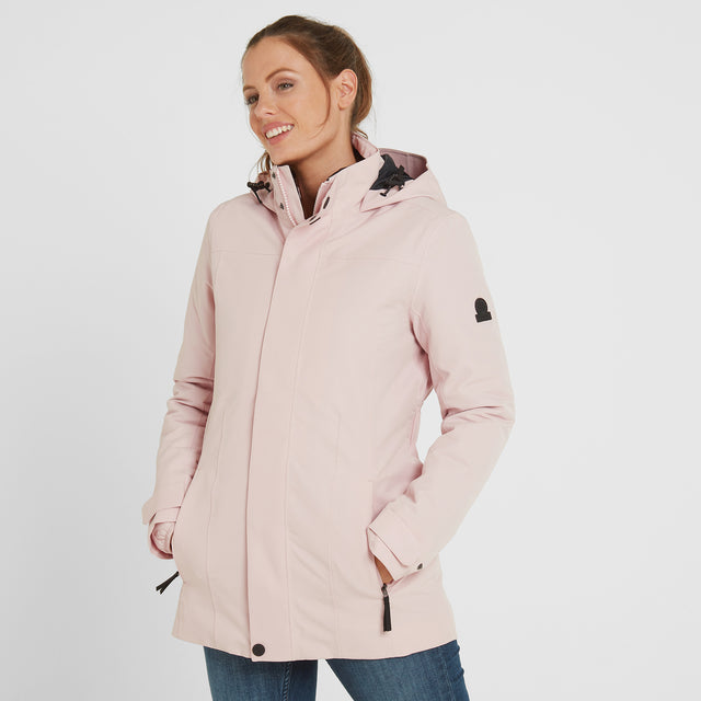 Ripley Womens Waterproof 3-In-1 Jacket - Rose Pink image 1