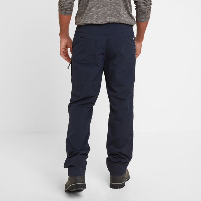 Rowland Mens Trousers Long - Navy image 3