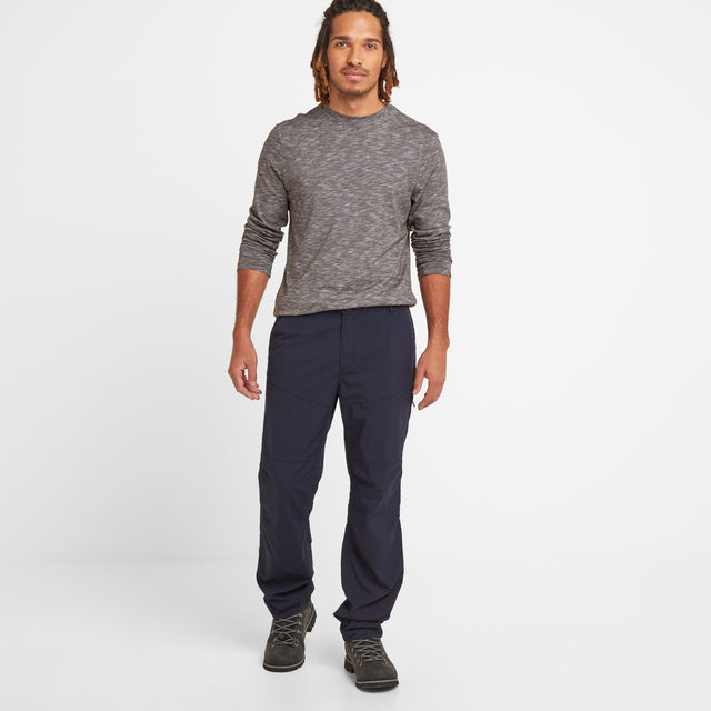 Rowland Mens Trousers Long - Navy image 1