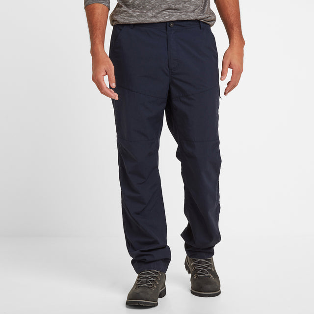 Rowland Mens Trousers Long - Navy image 2