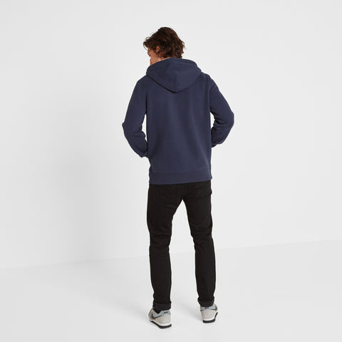 Russell Mens Zip Hoody - Navy
