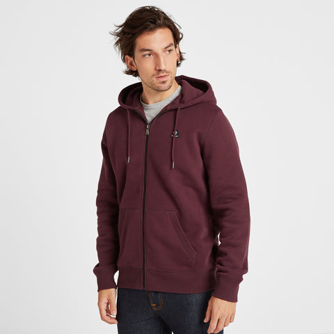 Russell Mens Zip Hoody - Deep Port