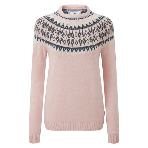 Sadie Womens Fairisle/Pattern - Rose Pink