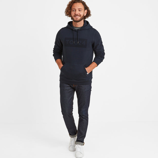 Sampson Mens Hoody - Dark Indigo image 2