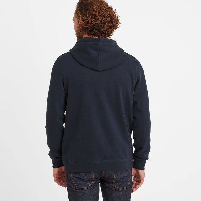 Sampson Mens Hoody - Dark Indigo image 3