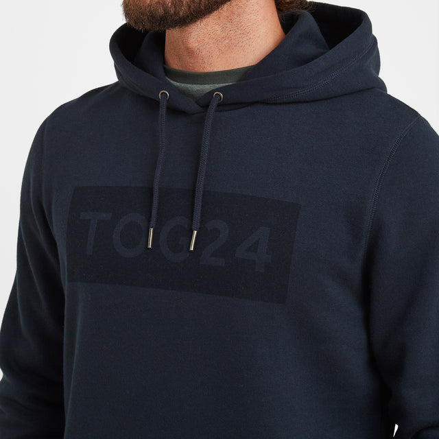 Sampson Mens Hoody - Dark Indigo image 5