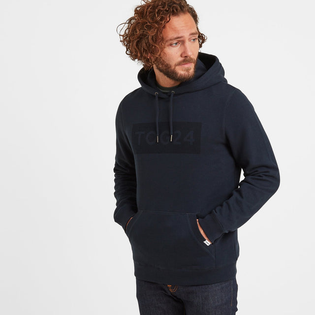 Sampson Mens Hoody - Dark Indigo image 1