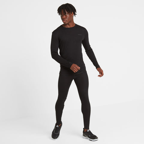Scafell Mens Thermal Set - Black