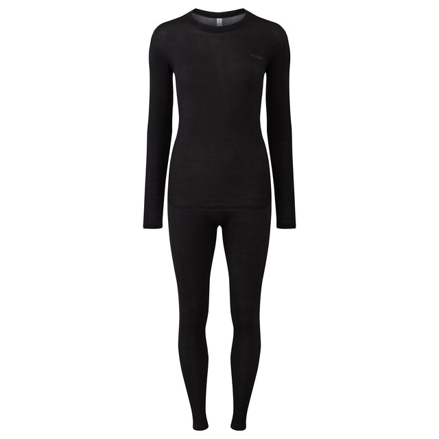 Scafell Womens Thermal Set - Black image 5