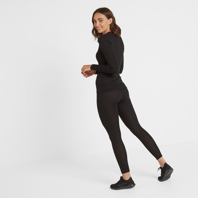 Scafell Womens Thermal Set - Black image 3