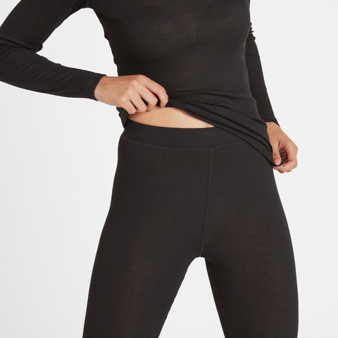 Scafell Womens Thermal Set - Black