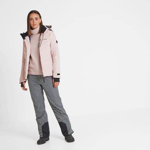 Shaw Womens Down Ski Jacket - Rose Pink