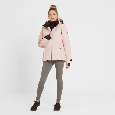 Shaw Womens Winter Jacket - Rose Pink
