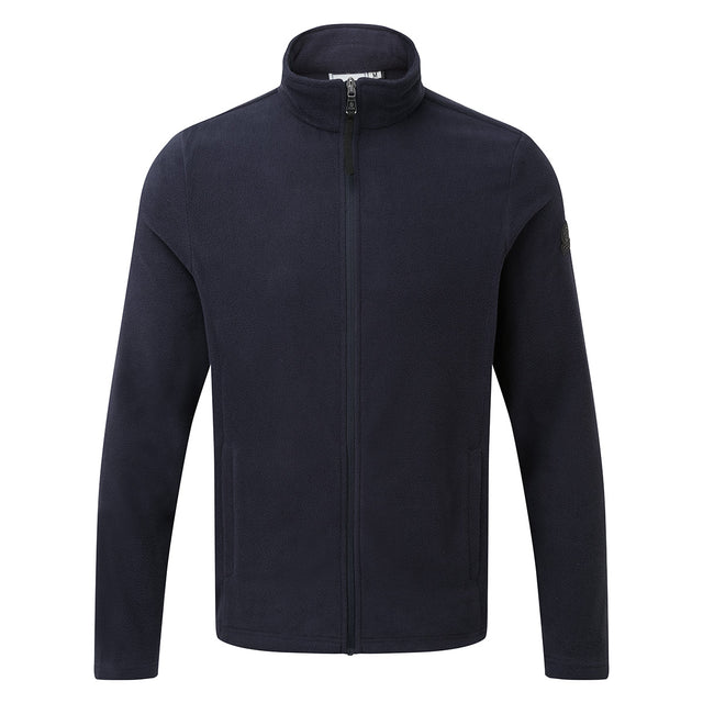 Shire Mens Fleece Jacket - Navy