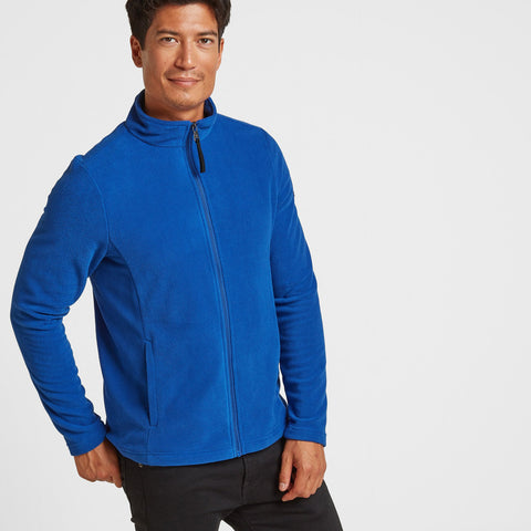 Shire Mens Fleece Jacket - Royal Blue