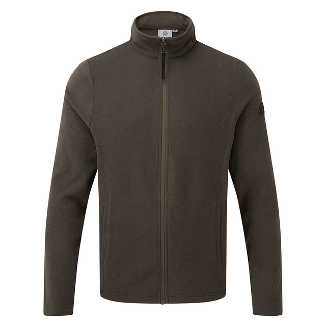 Shire Mens Fleece Jacket - Khaki image 6