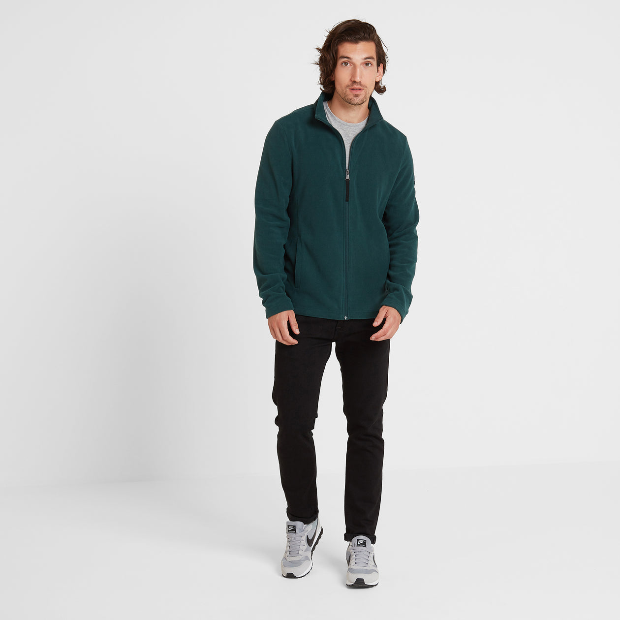 Shire Mens Fleece Jacket - Forest image 4