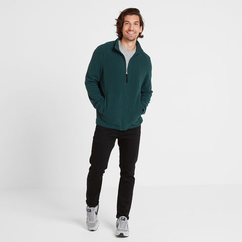 Shire Mens Fleece Jacket - Forest