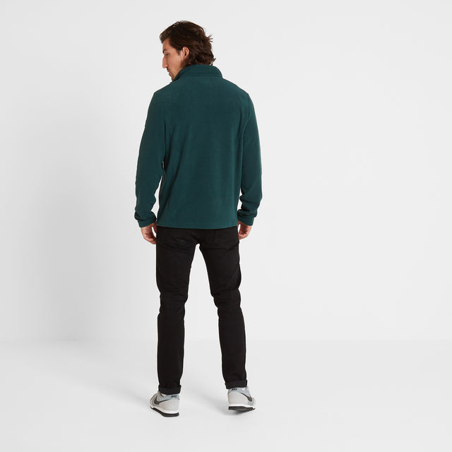 Shire Mens Fleece Jacket - Forest image 2