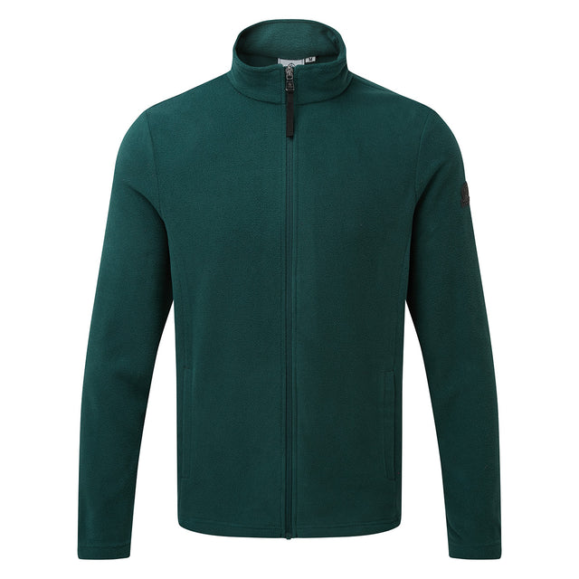 Shire Mens Fleece Jacket - Forest image 3