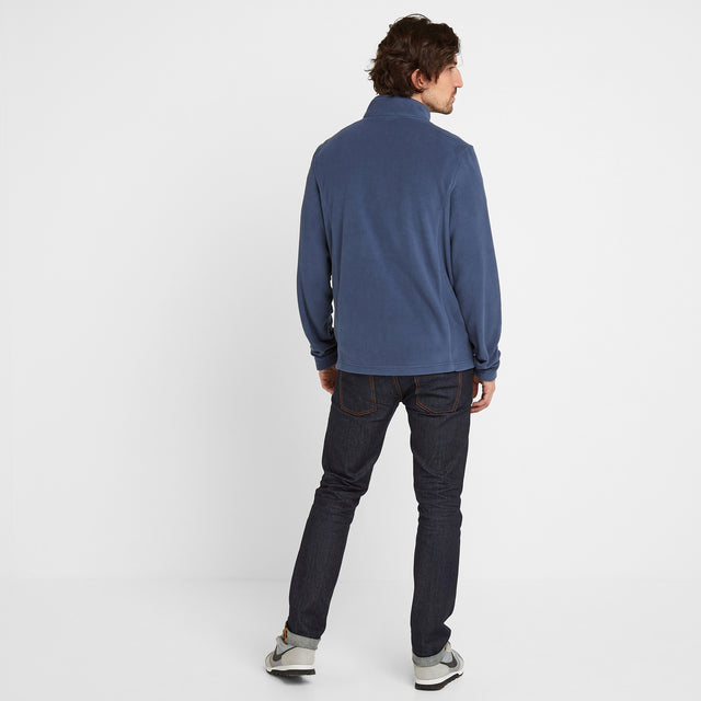 Shire Mens Fleece Jacket - Denim image 2