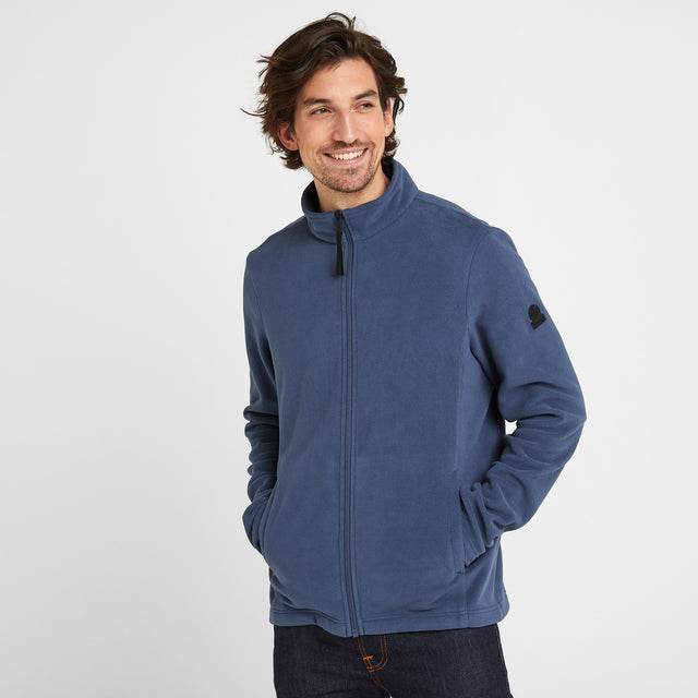 Shire Mens Fleece Jacket - Denim image 1