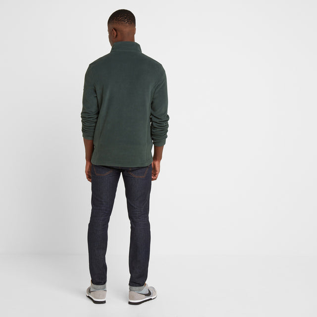 Shire Mens Fleece Jacket - Pine Green image 2